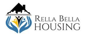 Official Logo for Rella Bella Properties Vacation Rentals